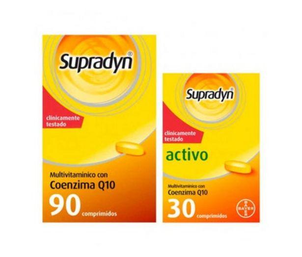 Oferta de Supradyn Complemento Activo 90 + 30 Comprimidos por 22,93€