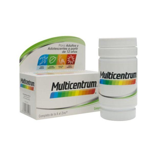 Oferta de Multicentrum Vitaminas y Minerales 90comp por 18,05€