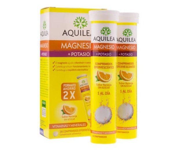 Oferta de Aquilea magnesio + potasio efervescente 28comp por 7,65€