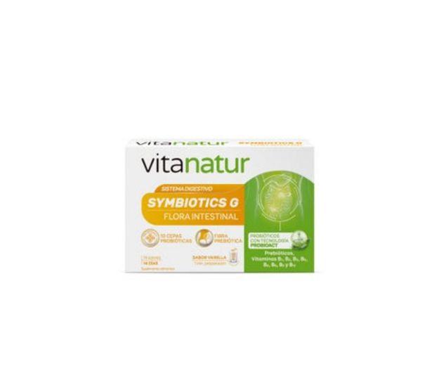 Oferta de Vitanatur Simbiotics G 14 sobres por 9,56€