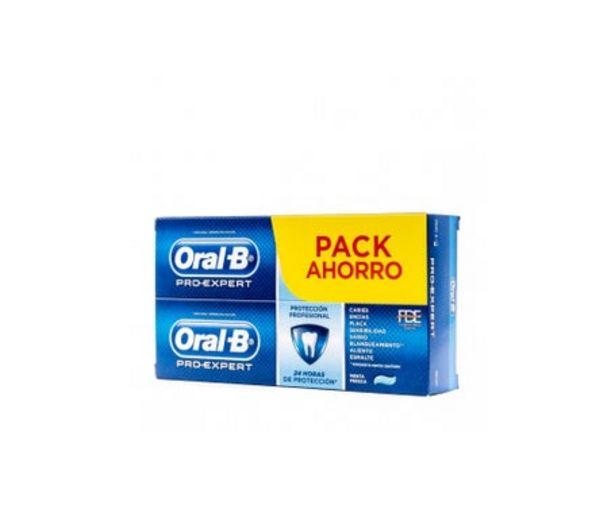 Oferta de Oral-B Pro Expert profesional Pasta 2x100ml por 4,18€