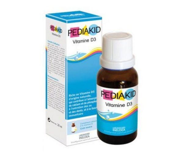 Oferta de Pediakid Vitamina D3 20ml por 6,65€