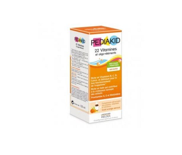 Oferta de Vitaminas y Oligolamentos Pediakid 250ml por 11,75€