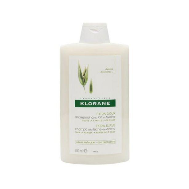 Oferta de Klorane champú a la leche de avena 400ml por 9,79€