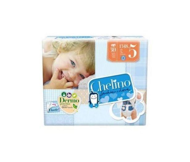 Oferta de Chelino Fashion&Love pañales T5 13-18kg 30uds por 5,9€