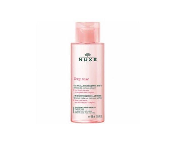Oferta de Nuxe Very Rose Agua Micelar Calmante 3 en 1 400Ml por 14,36€