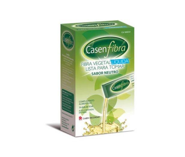 Oferta de Casenfibra fibra vegetal líquida 14 sobres por 9,15€