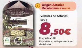 Oferta de Verdinas de Asturias  por 8,5€