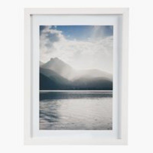 Oferta de Marco fotos VALTER 18x24cm blanco por 1,6€