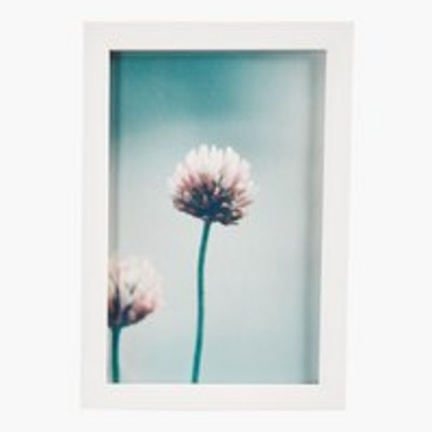 Oferta de Marco fotos VALTER 10x15cm blanco por 0,8€