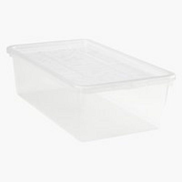Oferta de Organizador zapatos BASIC BOX tapa trans por 4€