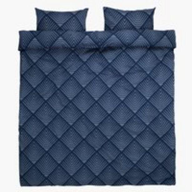 Oferta de Juego funda nórdica NOVA 200x220 azul por 15€