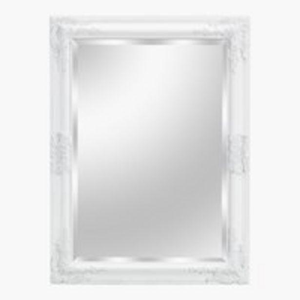 Oferta de Espejo KOPENHAGEN 60x80 blanco por 20€