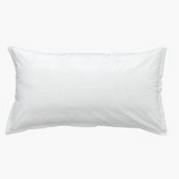 Oferta de Funda almohada 45x135 blanco por 2,5€