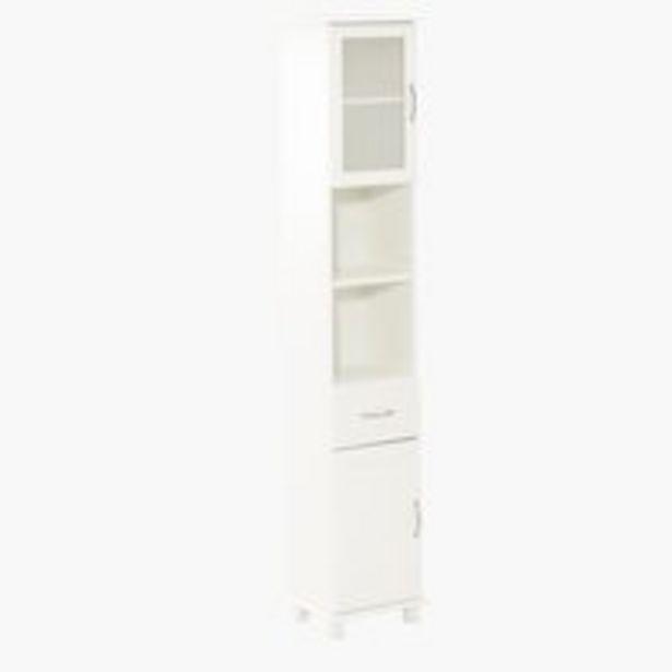 Oferta de Armario baño SKALS 35x188 blanco por 139€