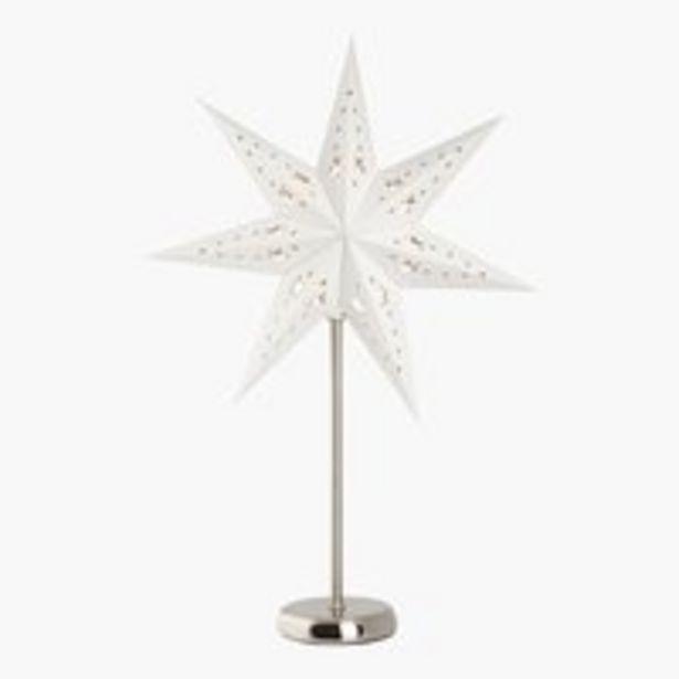 Oferta de Estrella CITRONSTEN A32xL32xA64 cm LED por 19,99€