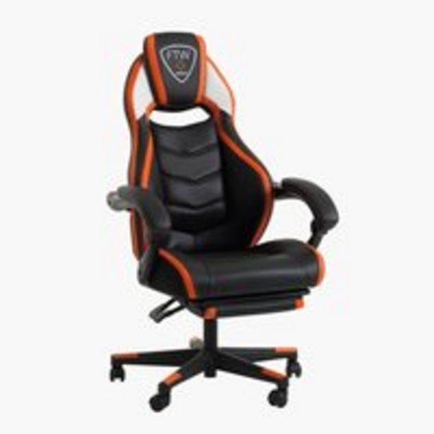 Oferta de Silla gaming GAMBORG negro/naranja por 269€