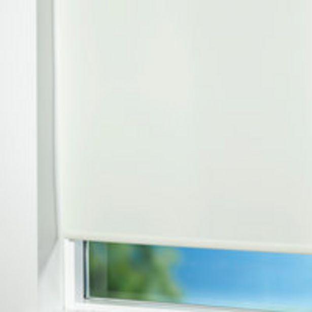 Oferta de Estor opaco BOLGA 45x170 cm blanco por 7,5€