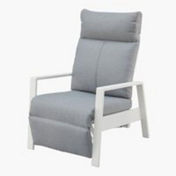 Oferta de Sillón reclinable VONGE blanco por 150€