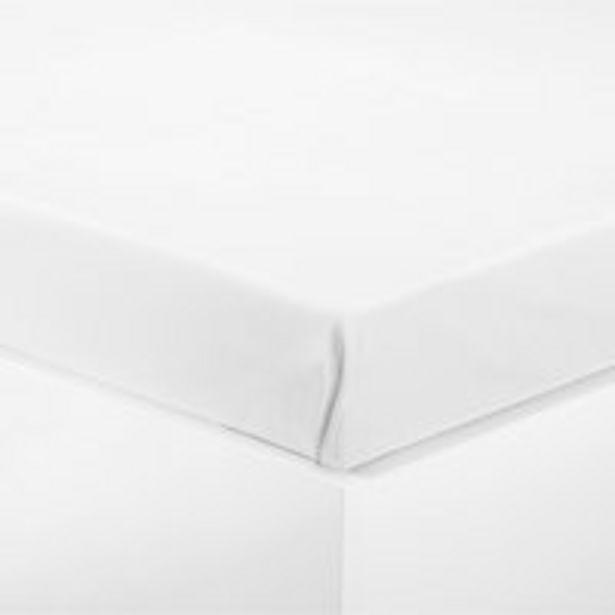 Oferta de Sábana 270x265cm blanco por 7,5€