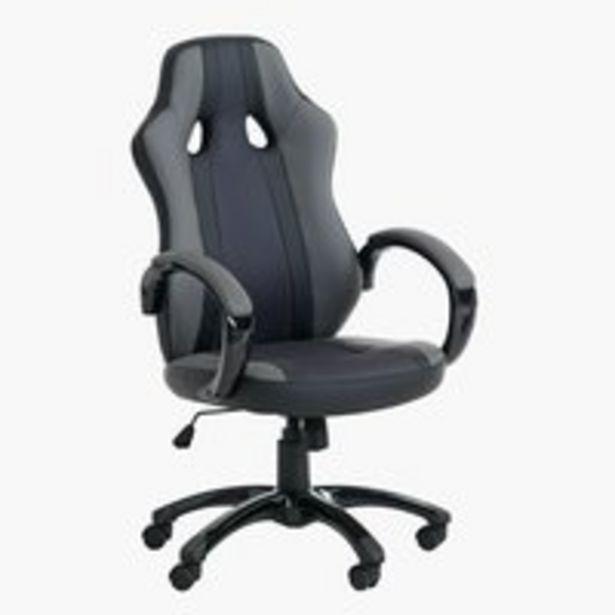 Oferta de Silla gaming AGGESTRUP gris/negro por 159€