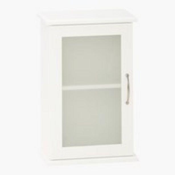 Oferta de Armario pared SKALS 35×54 blanco por 30€