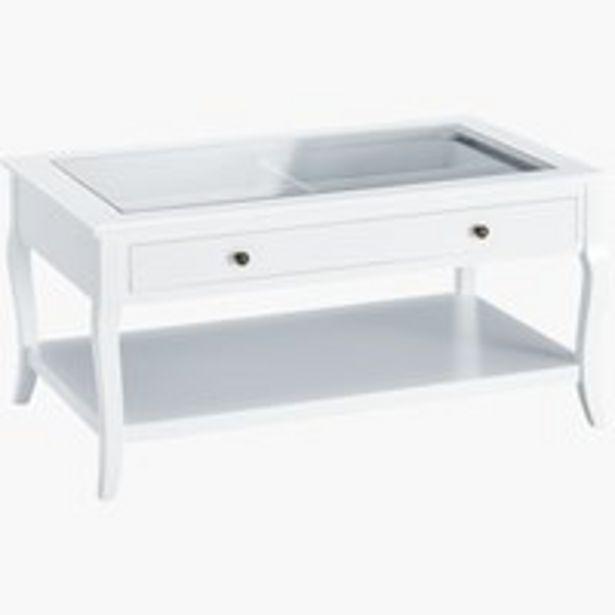 Oferta de Mesa centro LONE 60x100 blanco por 90€