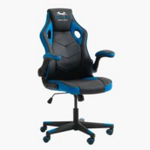Oferta de Silla gaming VOJENS negro/azul por 179€