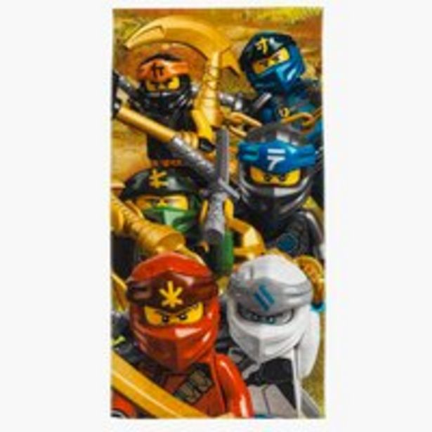 Oferta de Toalla de ducha LEGO NINJAGO 70x140 por 15€