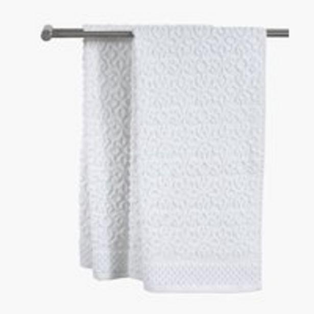 Oferta de Toalla de mano STIDSVIG 50x100 blanco por 3€