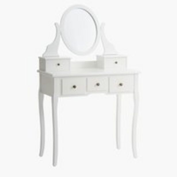Oferta de Tocador MALLING con espejo blanco por 115€