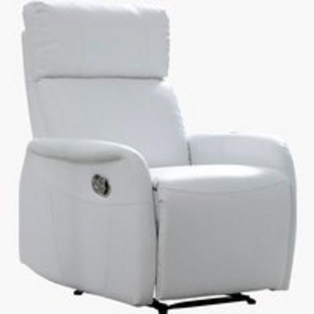 Oferta de Sillón reclinable RISSKOV blanco por 150€