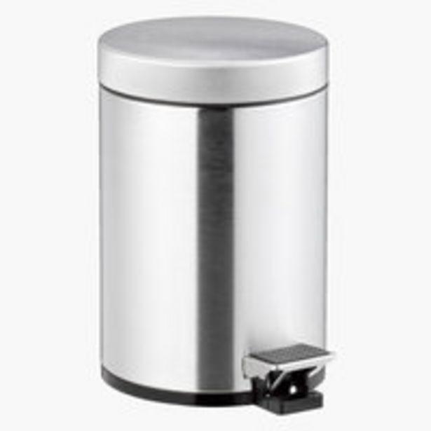 Oferta de Cubo con pedal MEDLE 3L acero por 7,5€