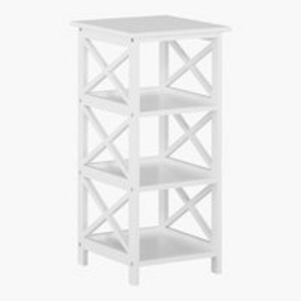 Oferta de Estantería DINA 3 estantes blanco por 44,99€