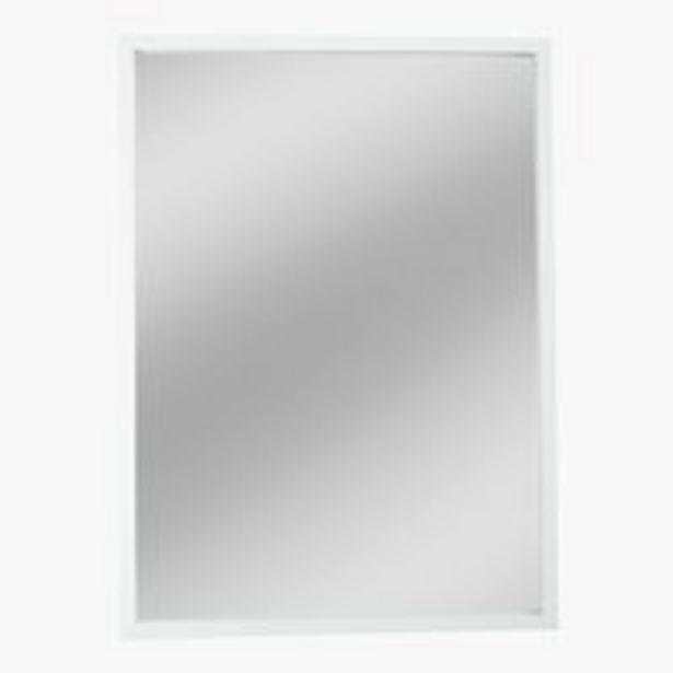 Oferta de Espejo SOMMERSTED 40x55 blanco por 7,5€