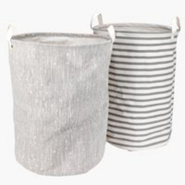 Oferta de Cesta para ropa ASGEIR Ø36xA50 cm por 6,99€