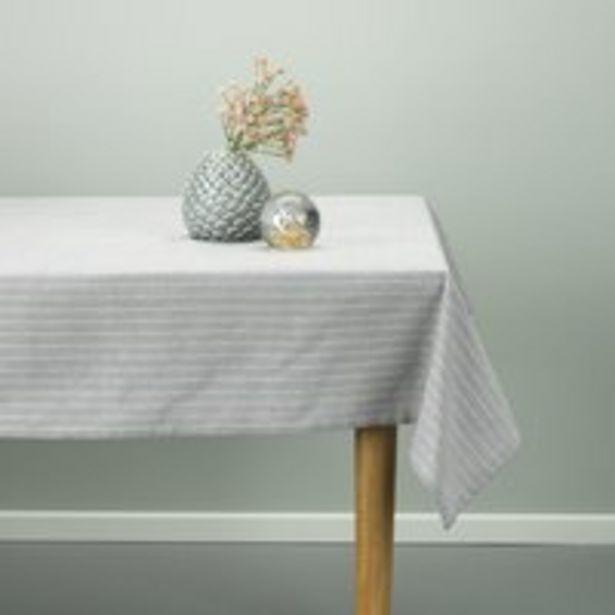 Oferta de Mantel HENGEVING 140x240 gris claro por 10€
