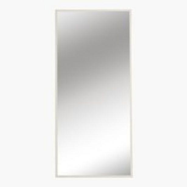 Oferta de Espejo SOMMERSTED 68x152 blanco por 40€