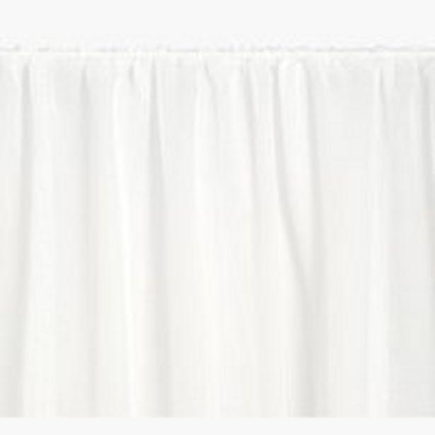 Oferta de Cortina MARISKO 1x140x300 blanco por 10€