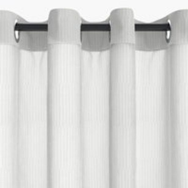 Oferta de Cortina UNDEN 1x135x300 blanco por 12,5€