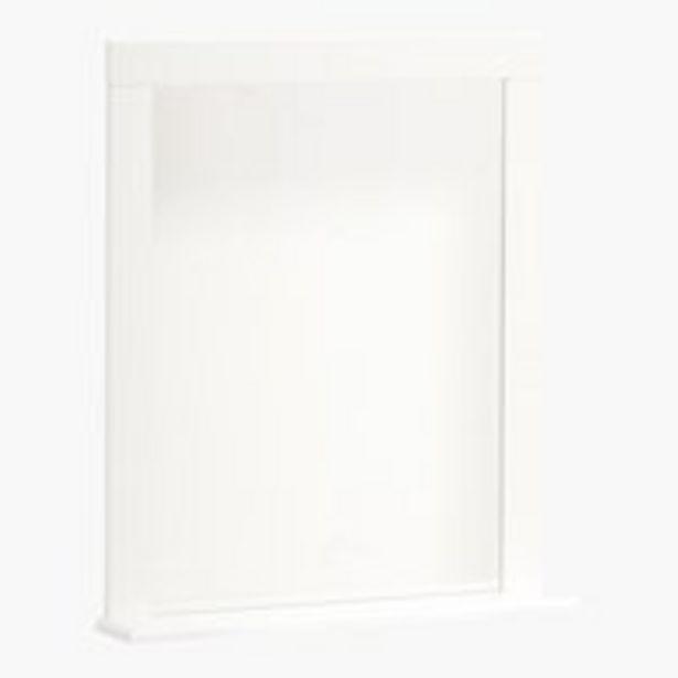 Oferta de Espejo de baño SKALS 67×78 blanco por 30€