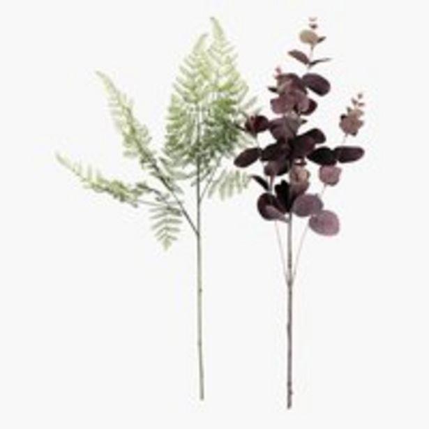 Oferta de Flor artificial CLEMME A55 cm variado por 3,99€