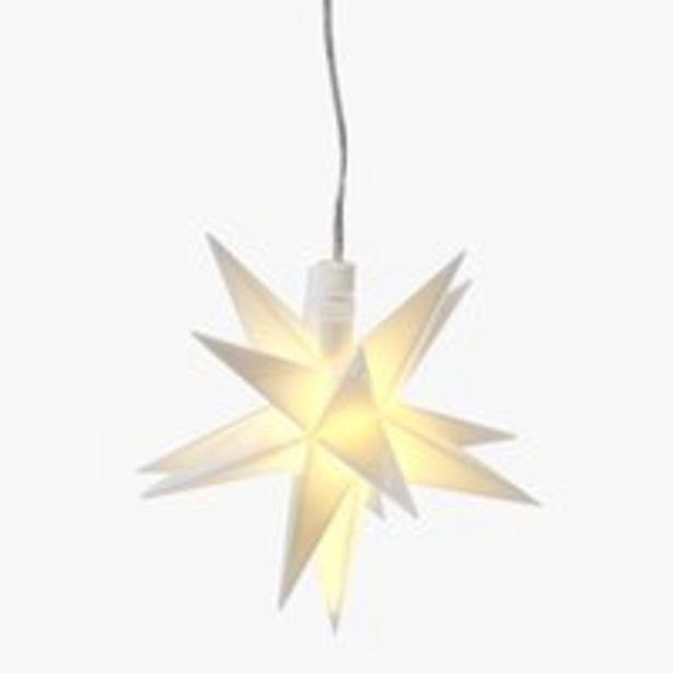 Oferta de Estrella BIFROST Ø13xA13cm para colgar por 6,99€