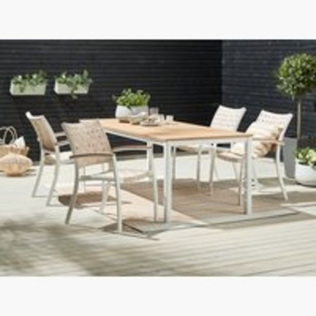 Oferta de RAMTEN L206 madera+4 JEKSEN blanco por 535€