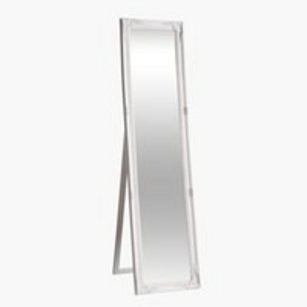 Oferta de Espejo de pie VRANGSTRUP 40×160 blanco por 35€
