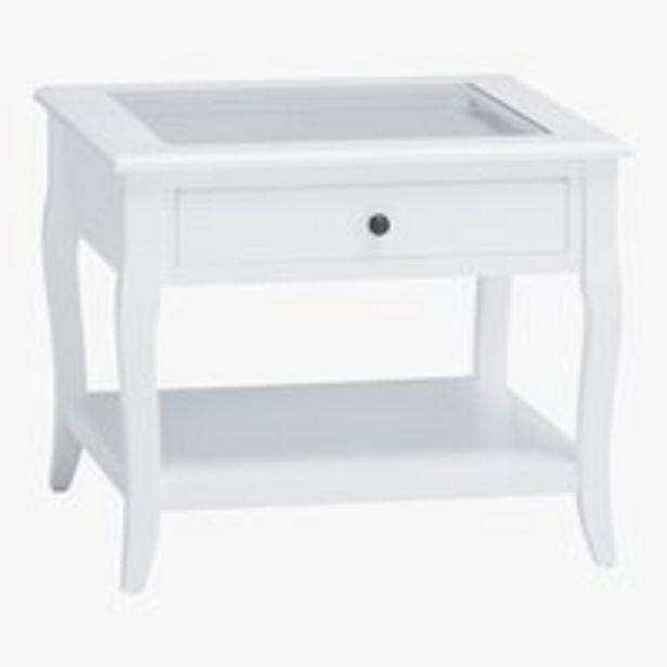 Oferta de Mesa centro LONE 60x60 blanco por 55€
