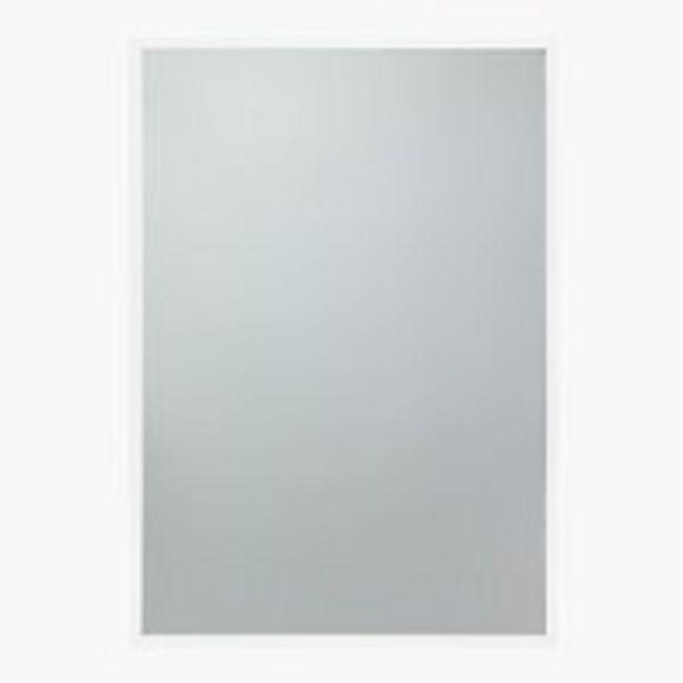 Oferta de Espejo SOMMERSTED 50x70 blanco por 25€