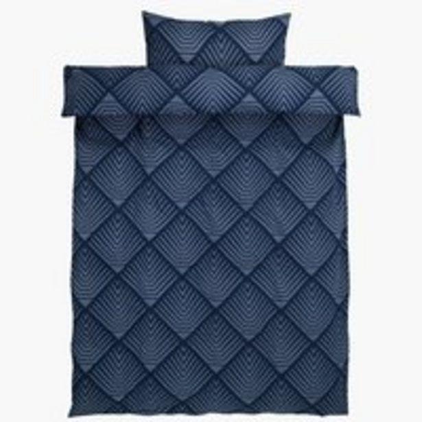Oferta de Juego funda nórdica NOVA 150x200 azul por 12,5€
