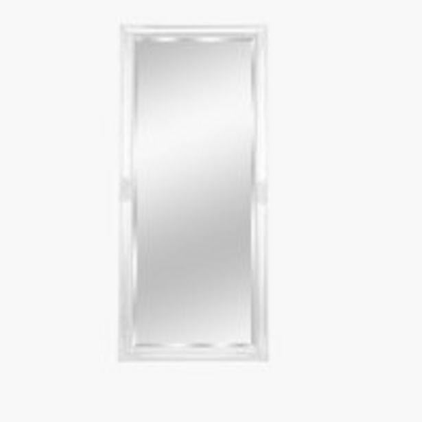 Oferta de Espejo KOPENHAGEN 72x162 blanco por 40€