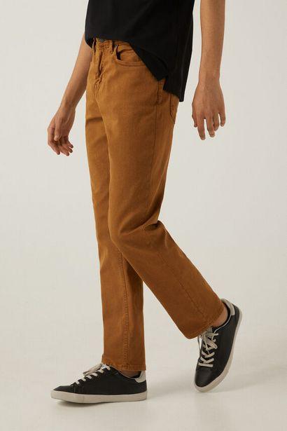 Oferta de Pantalón 5 bolsillos lavado por 12,99€